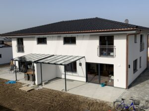 Terrassenüberdachung Pulverbeschichtet