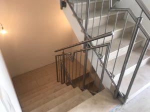 Geländer innen, Treppe